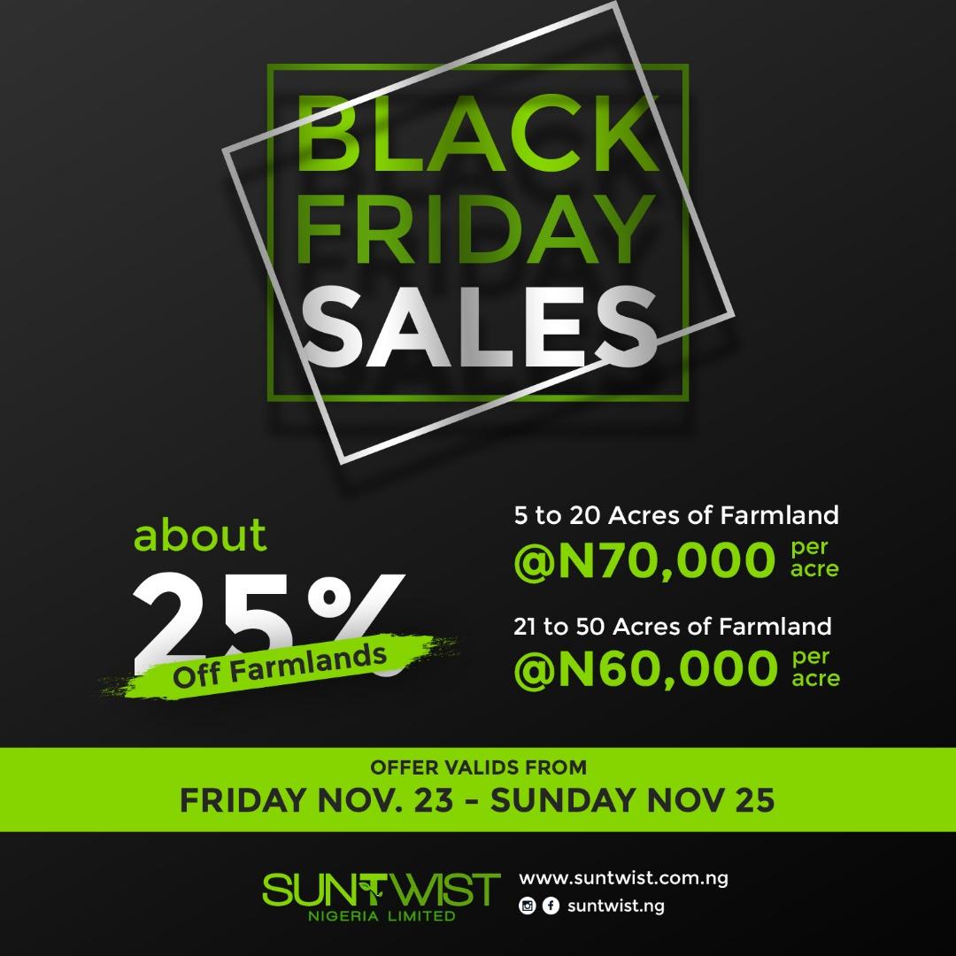 Black friday sales_Suntwist.com.ng