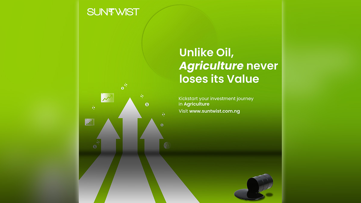 Unlike Oil, Agriculture never loses its Value