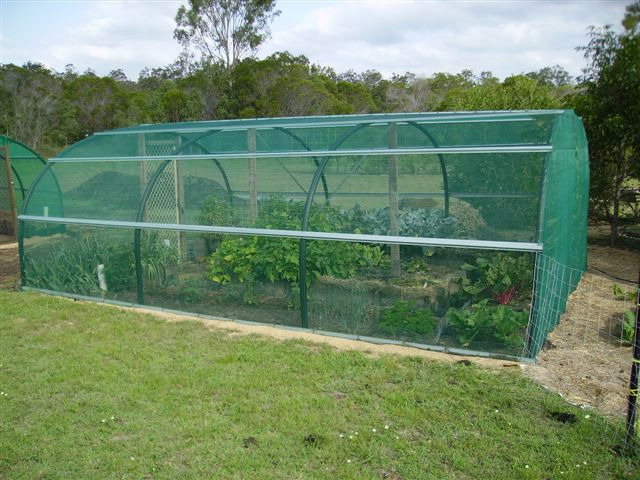 Screenhouse greenhouse
